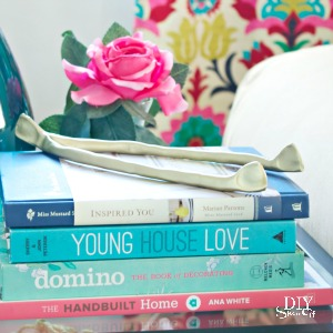 anthropologie inspired wishbone DIY