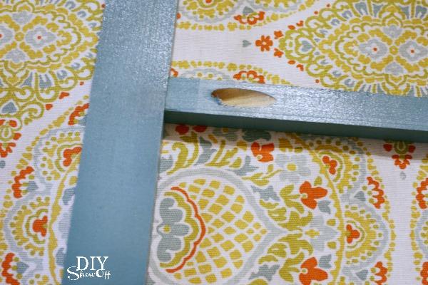 DIY luggage rack tutorial