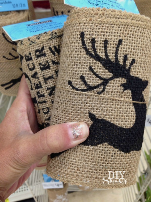 burlap Christmas