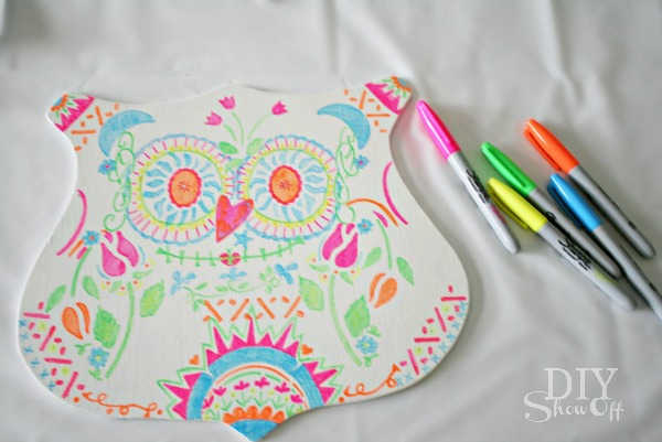 diy candy skull halloween owl tutorial