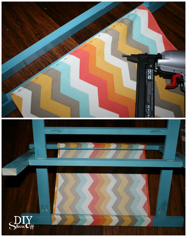 how to make a luggage rack