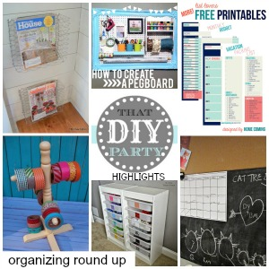 DIY Highlights - organization