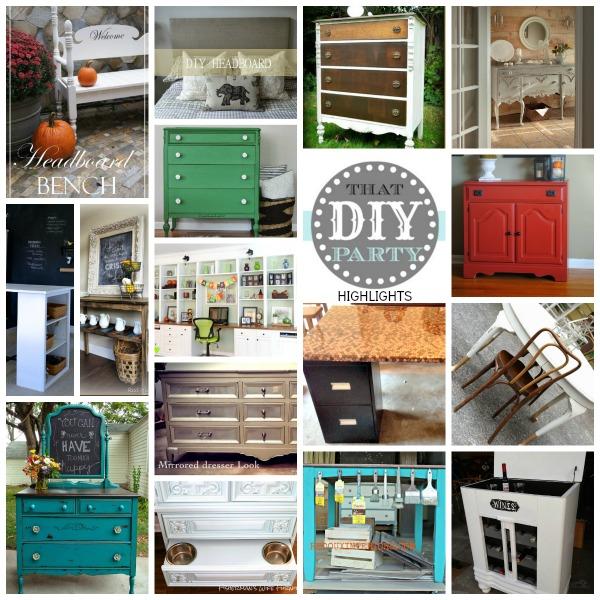 DIY furniture highlights