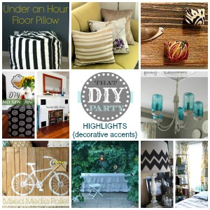 DIY highlights - decorative accents