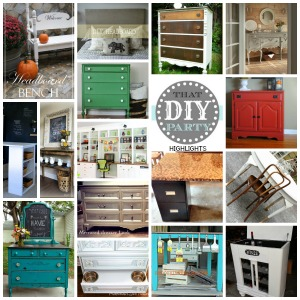 DIY highlights - furniture