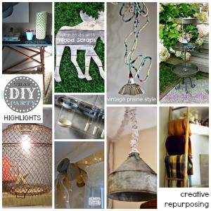 DIY highlights - repurposing