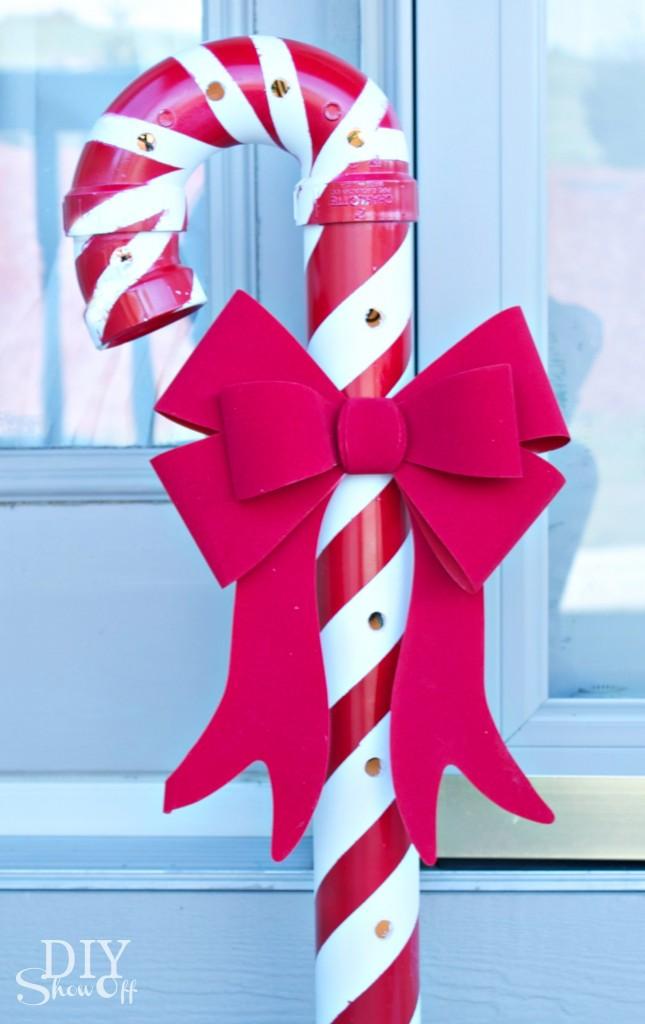 DIYShowOff PVC candy canes