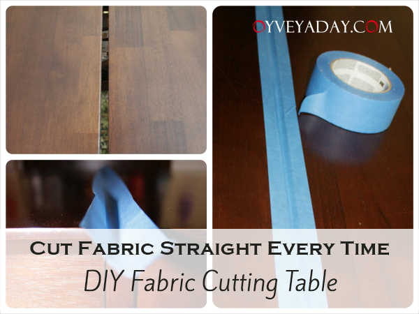Homemade-Fabric-Cutting-Table-Taping_Oyveyaday