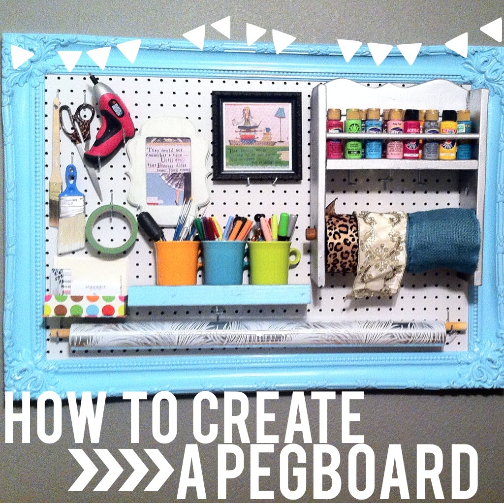 How to Peg board - Decorate My Life