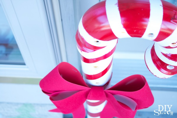 PVC candy cane tutorial