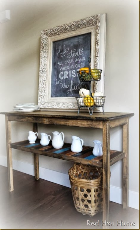 Red Hen Home Console Table