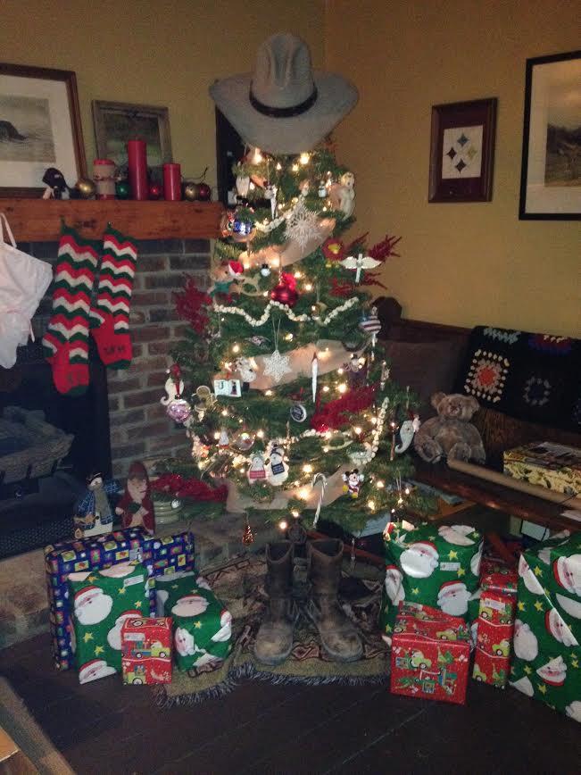 Sarah's Cowboy Christmas Tree