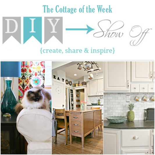 TheCottageoftheWeek-DIYShowOff at The Cottage Market