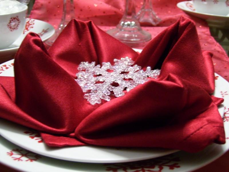 christmas napkin