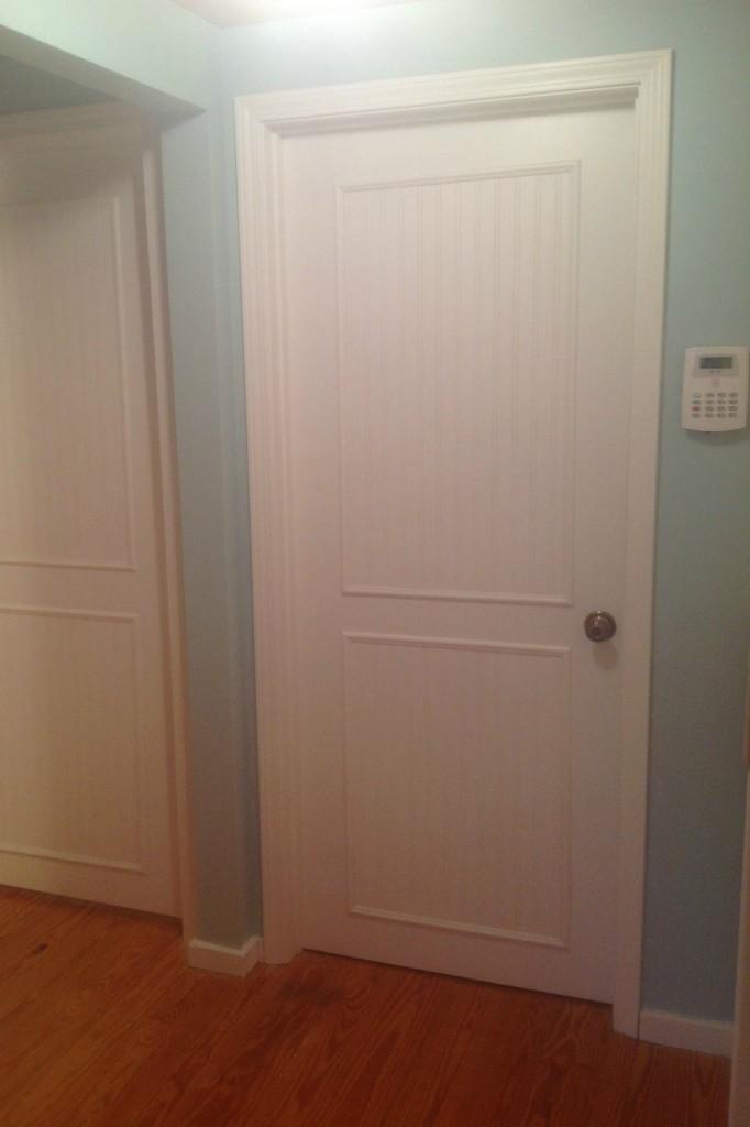 Flat Panel Door Makeover