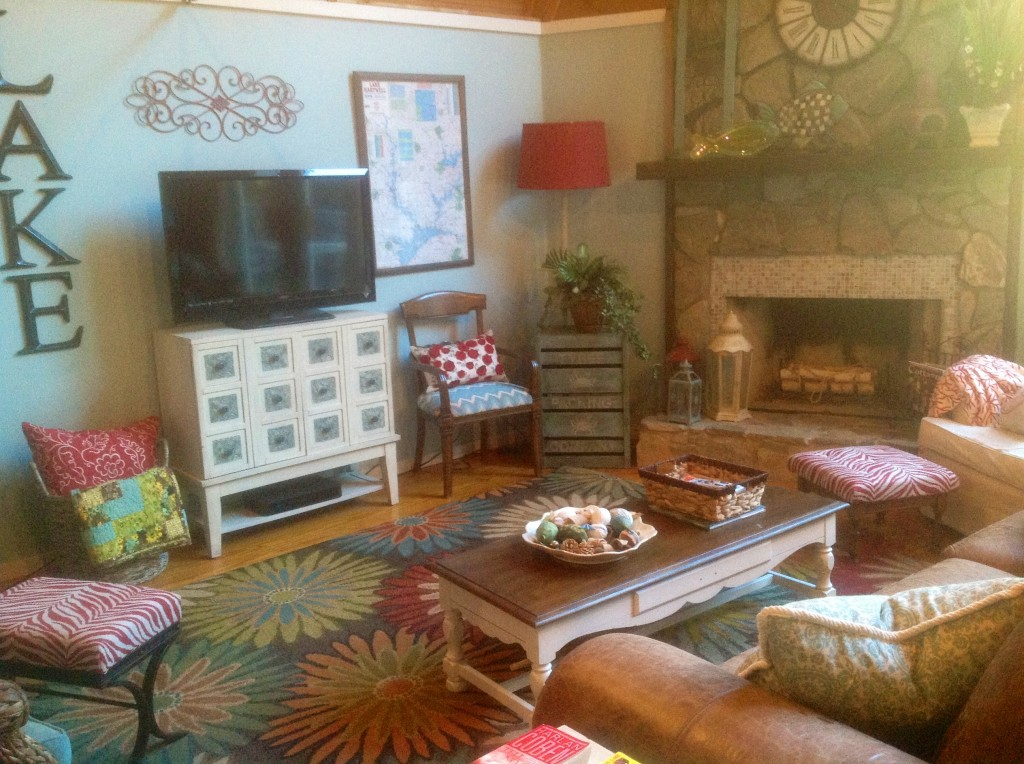 cottage living room makeover