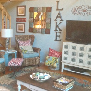 lake cottage makeover