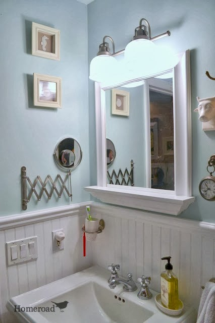 master bathroom makeover at homeroad