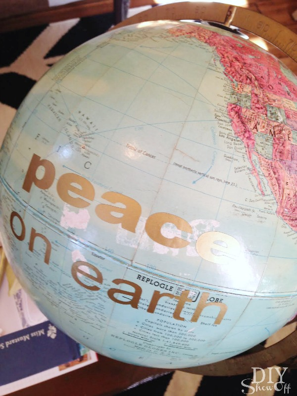 peace on earth globe