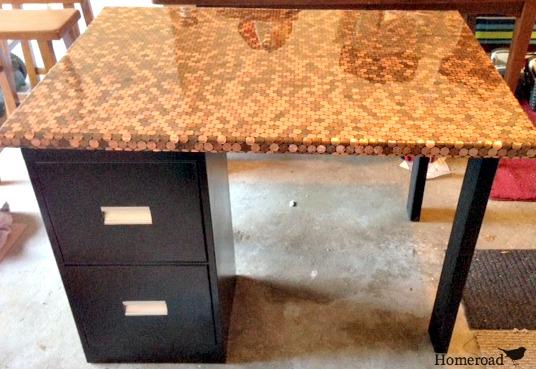 penny desk at HomeRoad