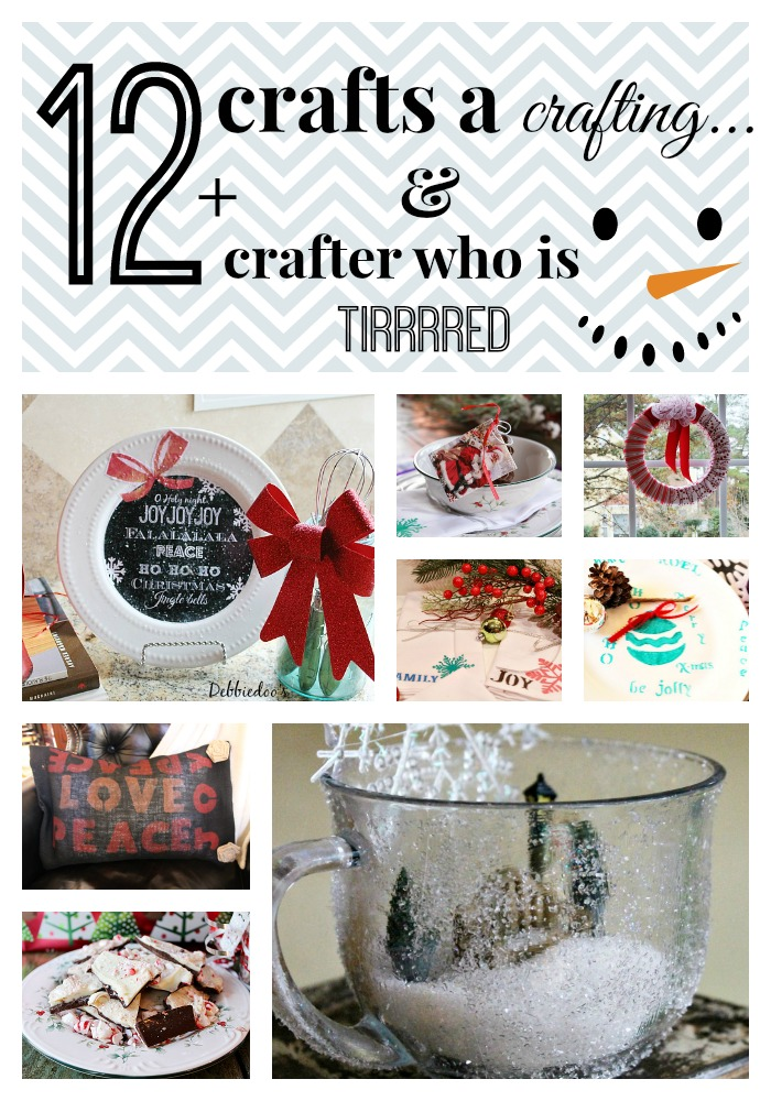 12 craft projects - DebbieDoos