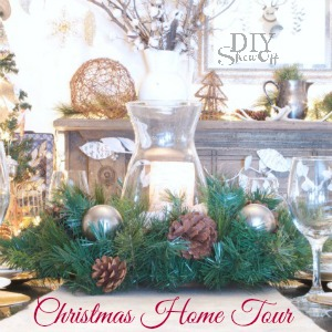 Christmas Home Tour at DIYShowoff.com