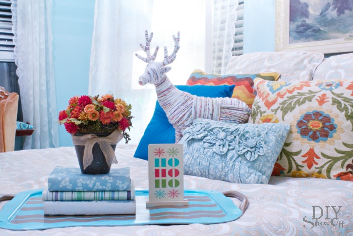Christmas guest bedroom DIY ShowOff