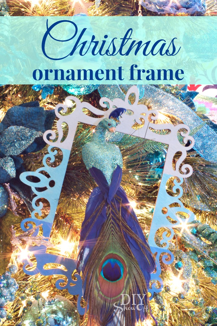 Ornament FramesDIY Show Off ™ – DIY Decorating and Home Improvement Blog