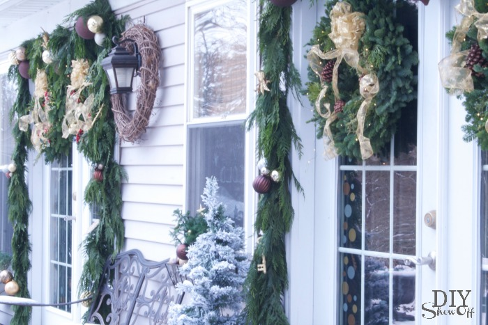 Decorating French Doors For Christmas Part 1 Diy Show