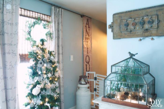 Christmas sitting room