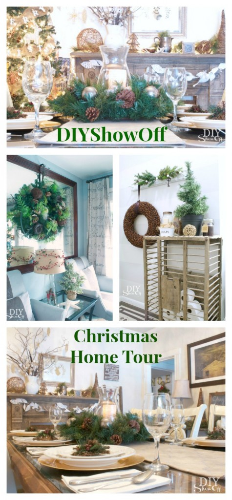 DIYShowOff Christmas Home Tour 2013