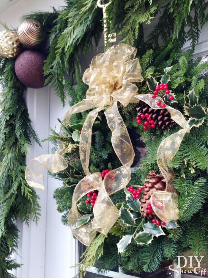 Lynch Creek Farm Holly Wreath