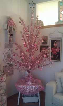 Rachel's Pink Christmas Tree