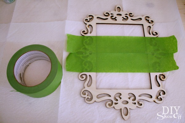 ornament frame tutorial