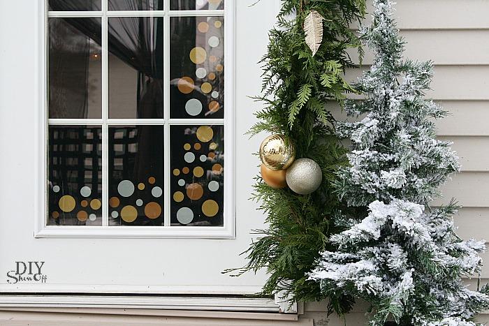 Decorating French Doors For Christmasdiy Show Off Diy