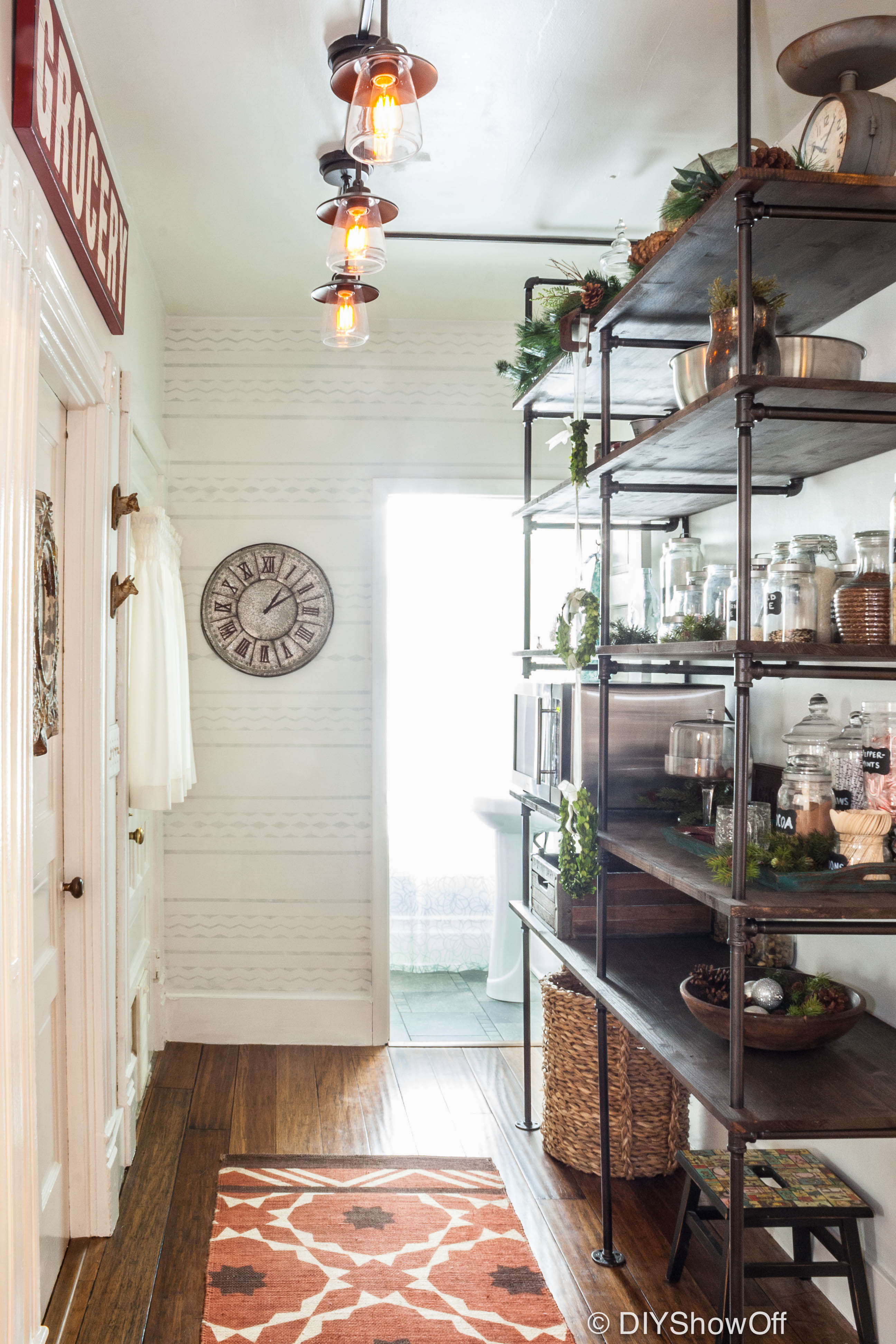 Pantry before and after diy show off diy decorating and home diyshowoff open pantry solutioingenieria Images