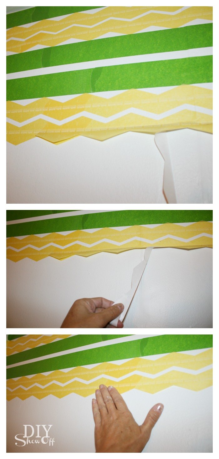 FrogTape Shape Tape application