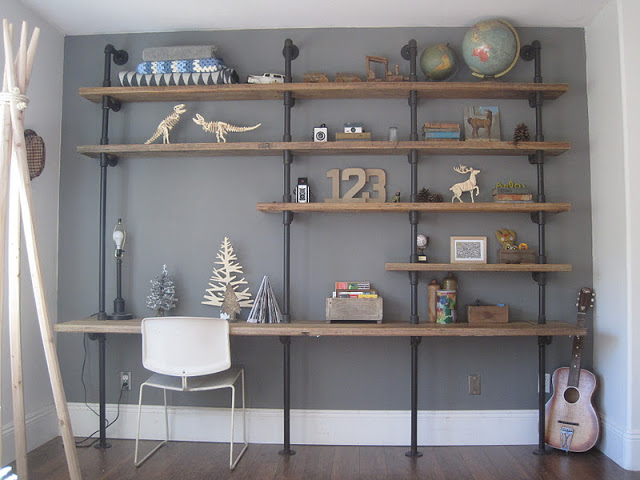 House of Habit shelving