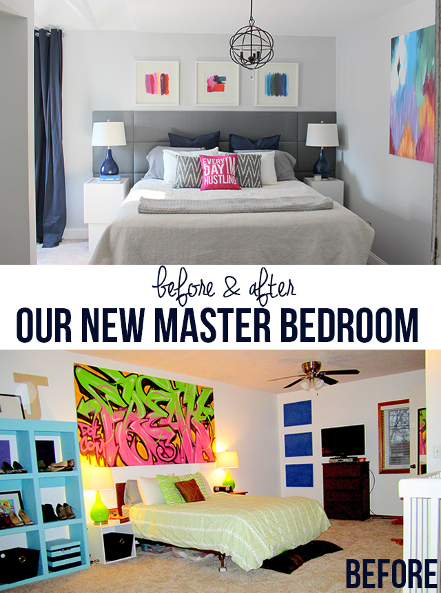 Master Bedroom Reveal at HomeComing