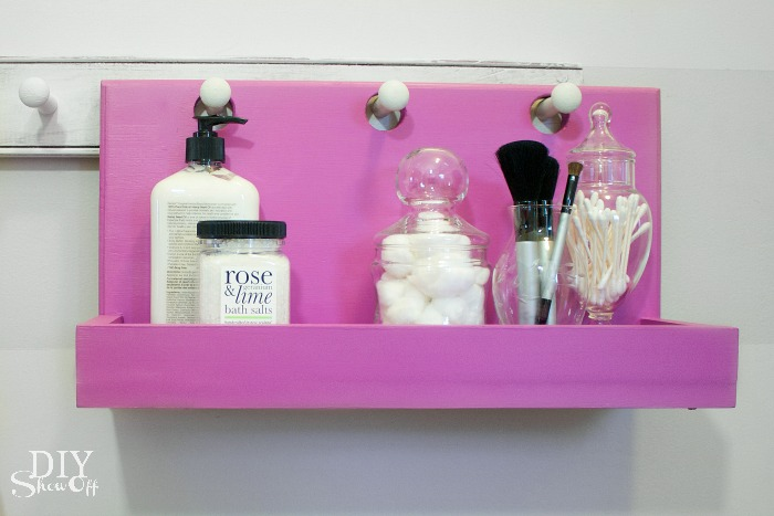 bathroom peg hook hanging organizer