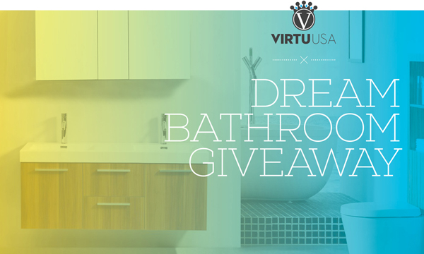 dream bathroom giveaway