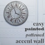 easy painted accent wall