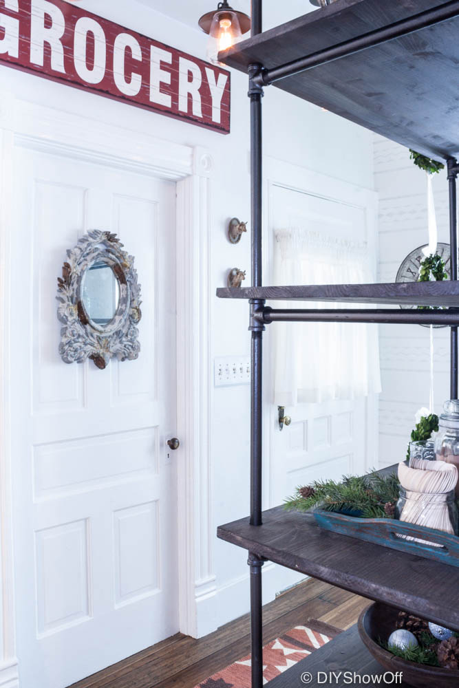 industrial farmhouse pantry makeover