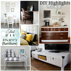 DIY furniture highlights