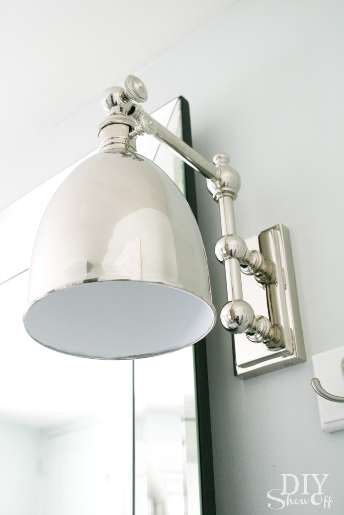 Unique  DIYShowOff bathroom lighting from LampsPlus