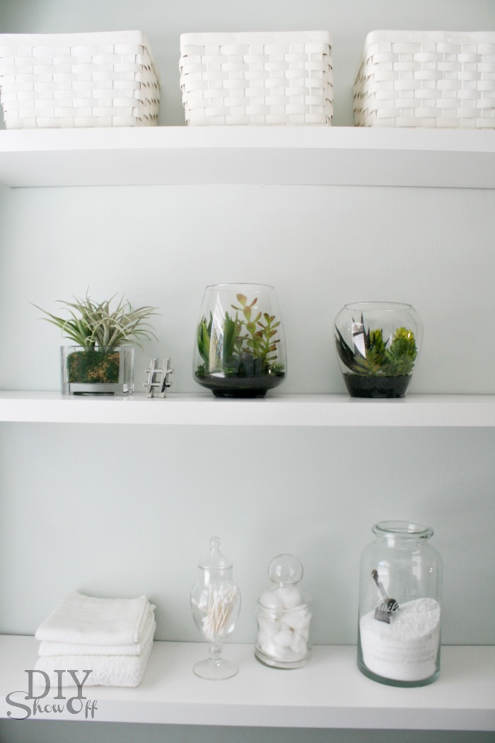Best DIYShowOff bathroom shelves