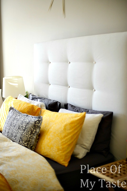 Ikea headboard hack @PlaceofMyTaste