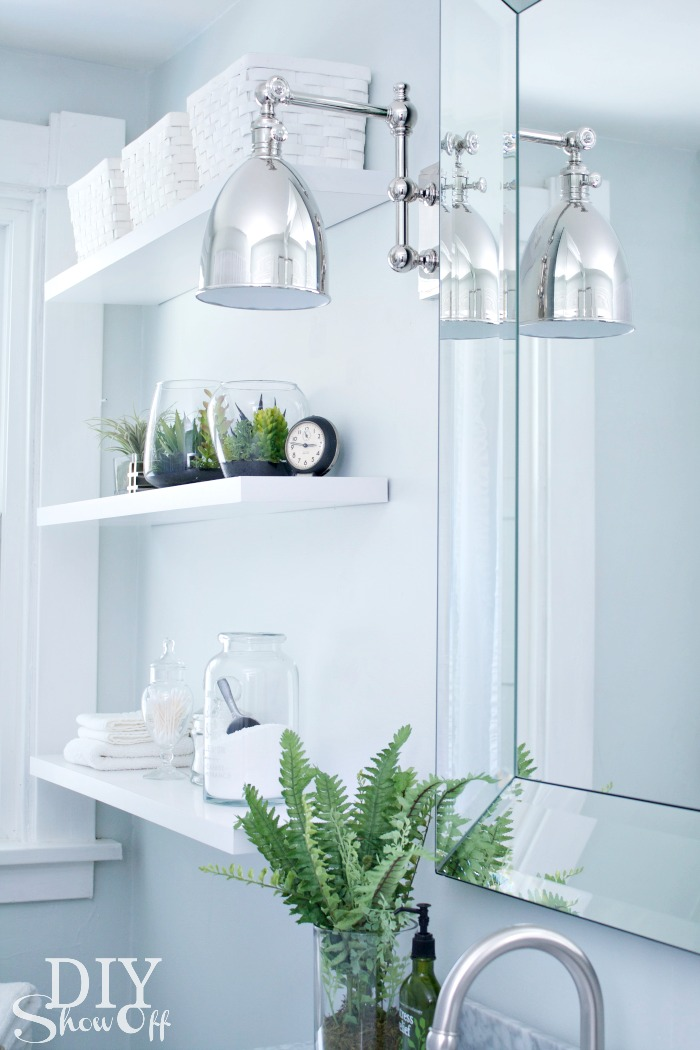 Unique  Bathroom Makeover LampsPlus Monroe Adjustable Wall Sconce