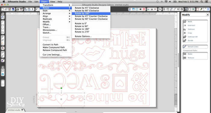 Silhouette Design Studio software