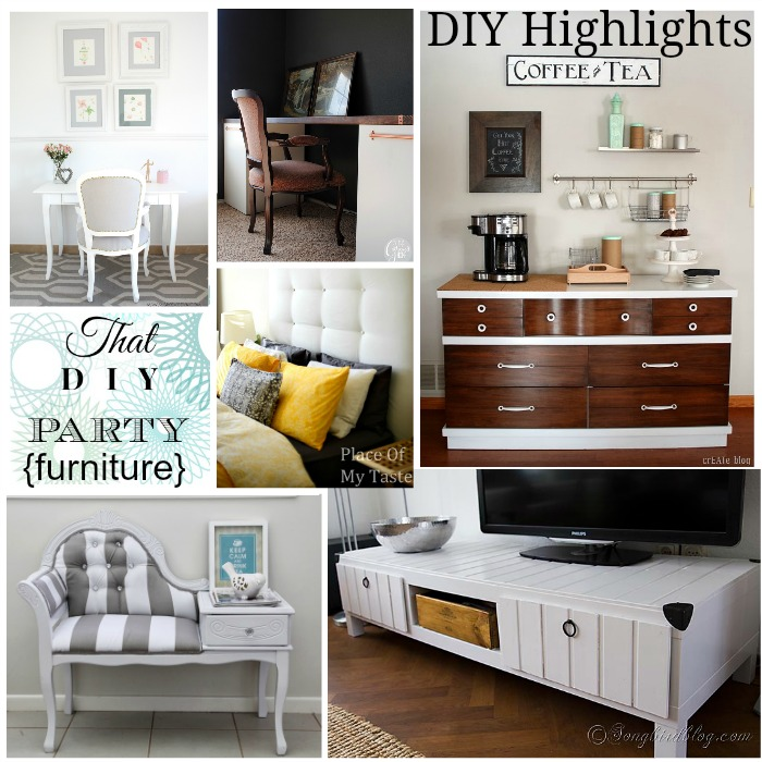 That DIY Party Furniture Highlights January 2014